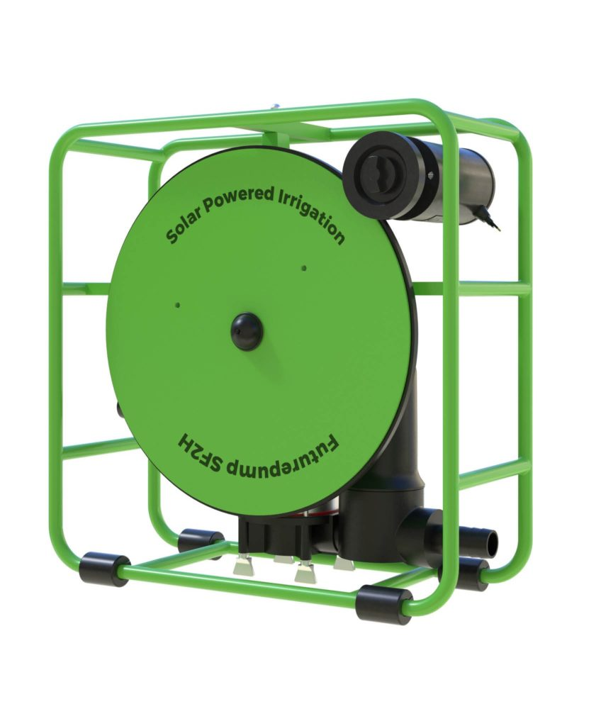 An image of the SF2H solar water pump